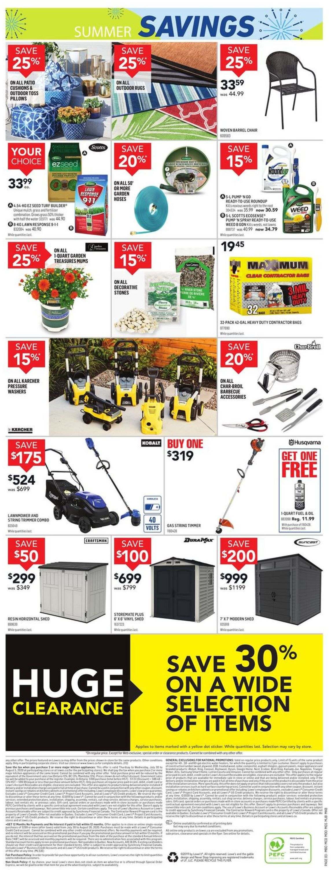 Lowes Flyer - 07/30-08/05/2020 (Page 4)