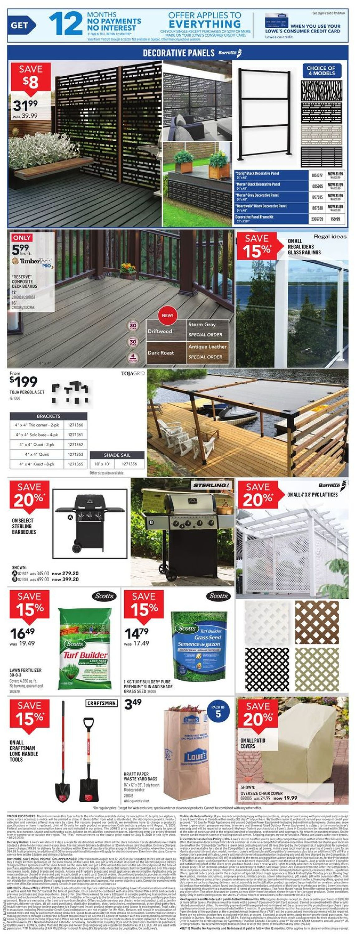 Lowes Flyer - 08/06-08/12/2020 (Page 2)
