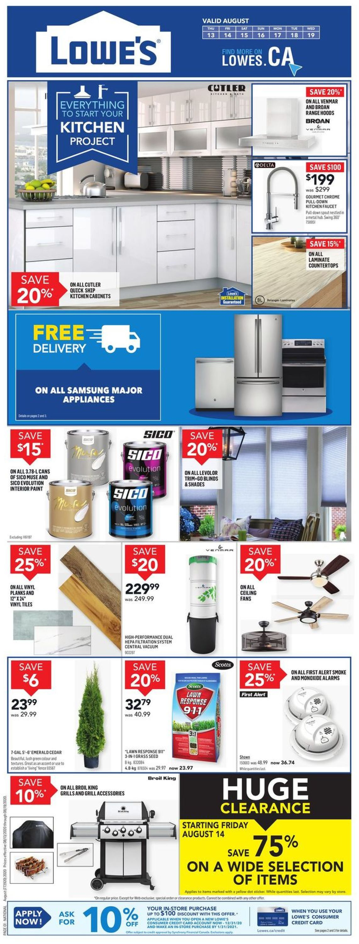 Lowes Flyer - 08/13-08/19/2020