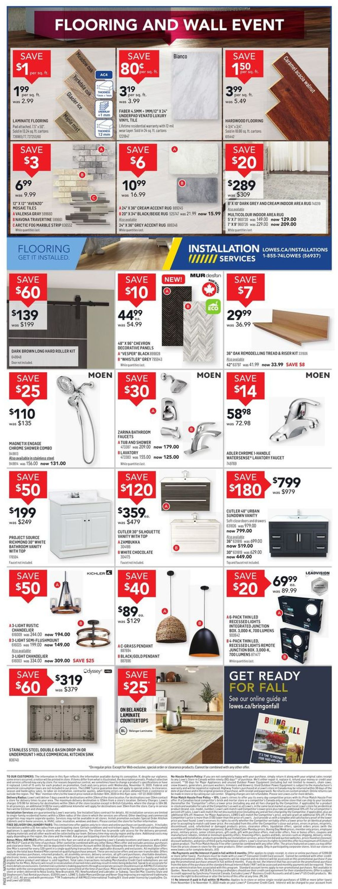Lowes Flyer - 11/05-11/11/2020 (Page 2)