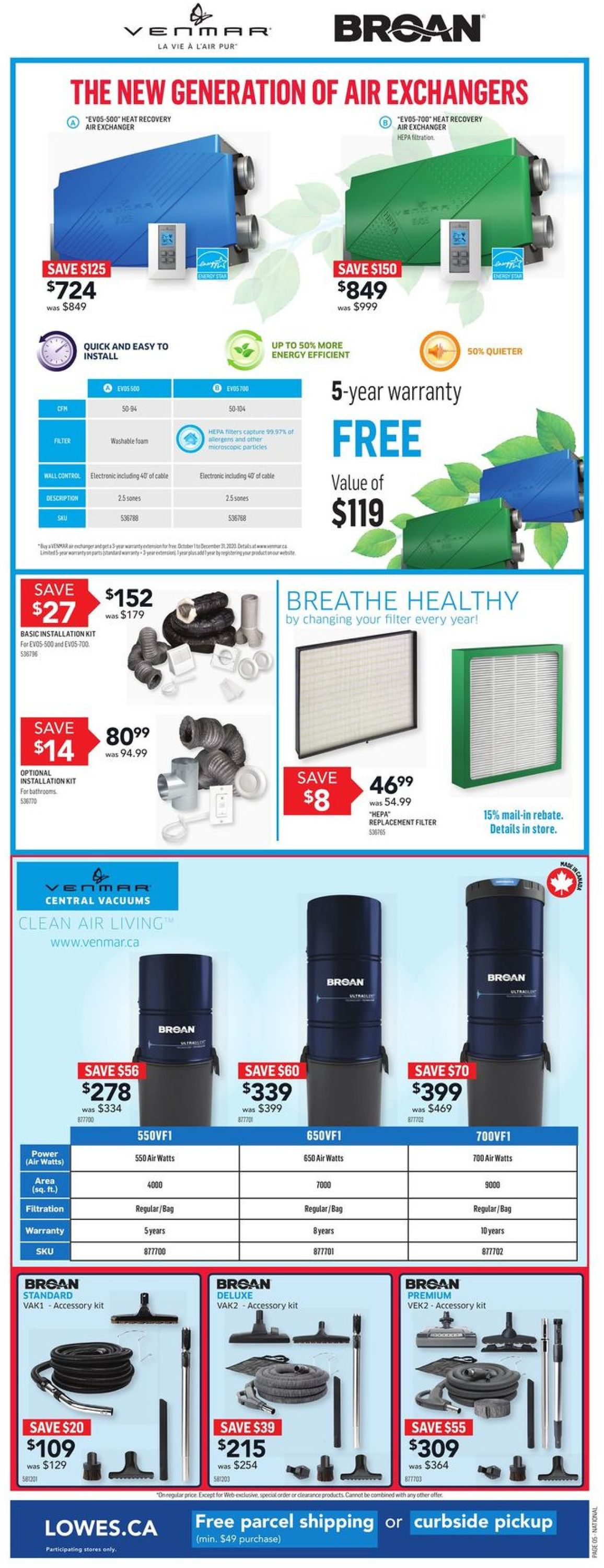 Lowes Flyer - 11/05-11/11/2020 (Page 5)