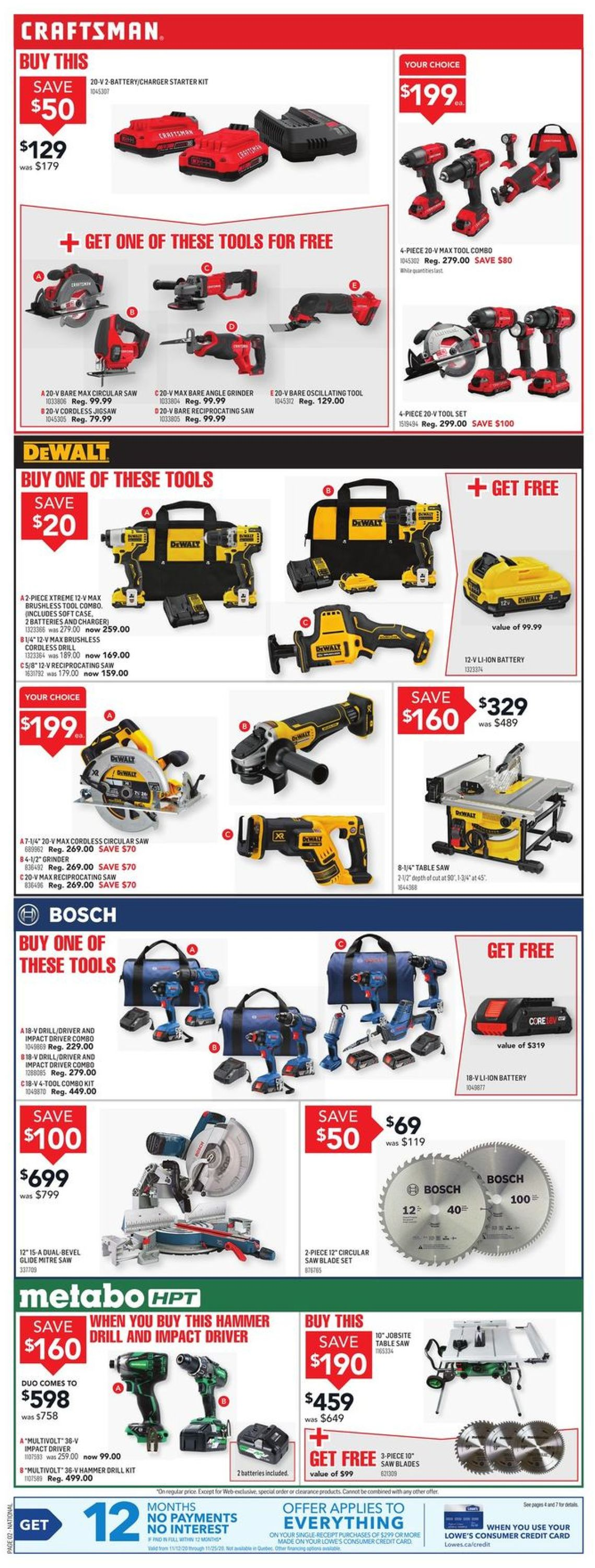 Lowes Flyer - 11/19-11/25/2020 (Page 2)