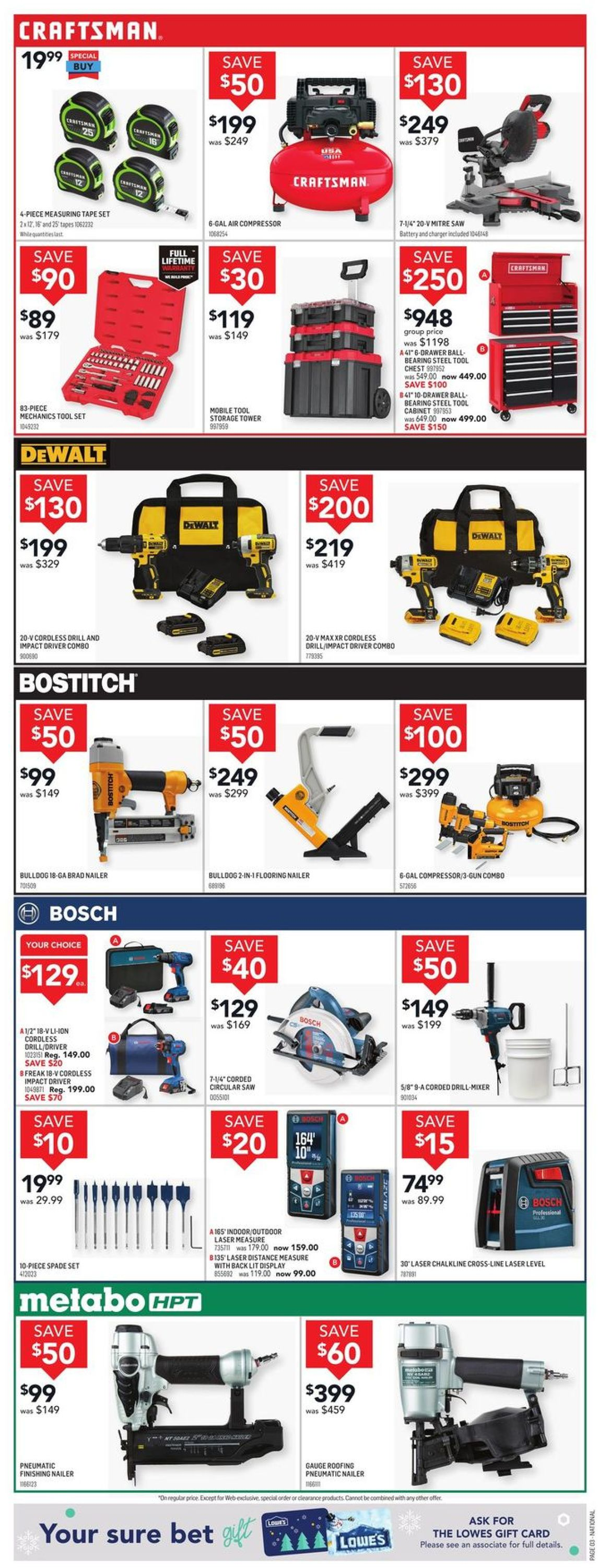 Lowes Flyer - 11/19-11/25/2020 (Page 3)