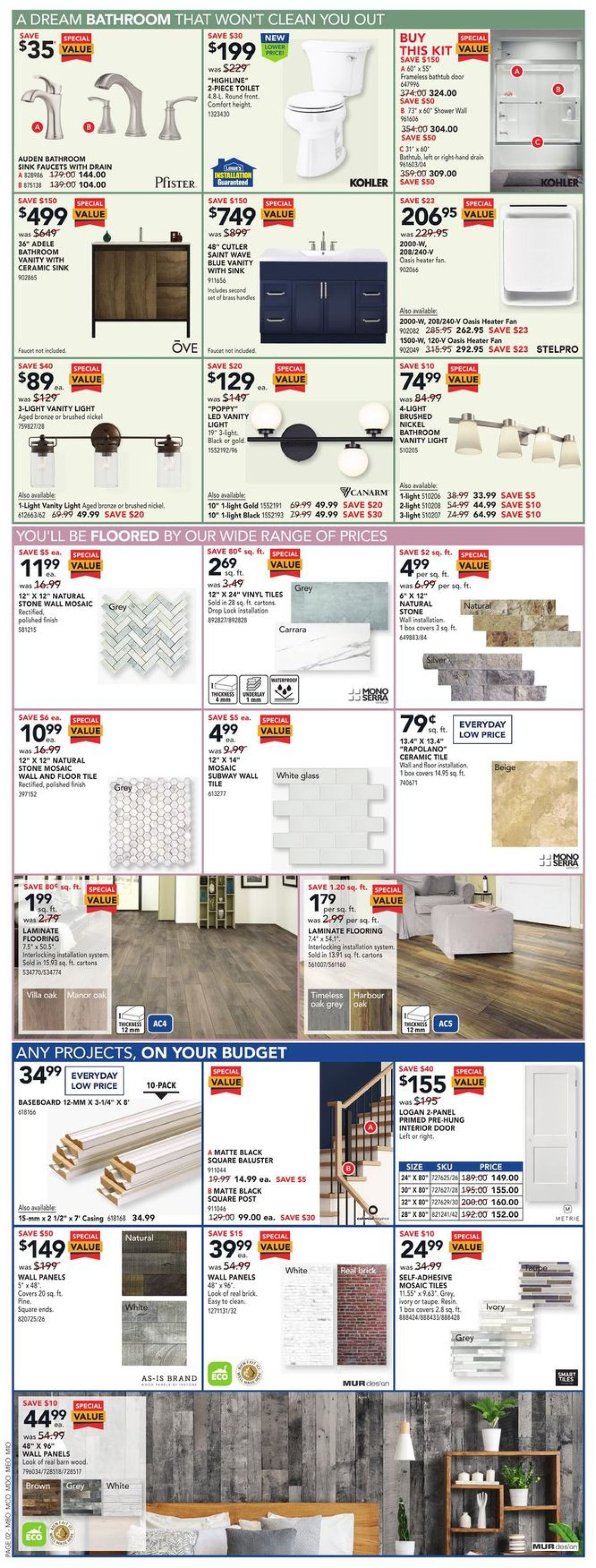 Lowes Flyer - 01/28-02/03/2021 (Page 2)