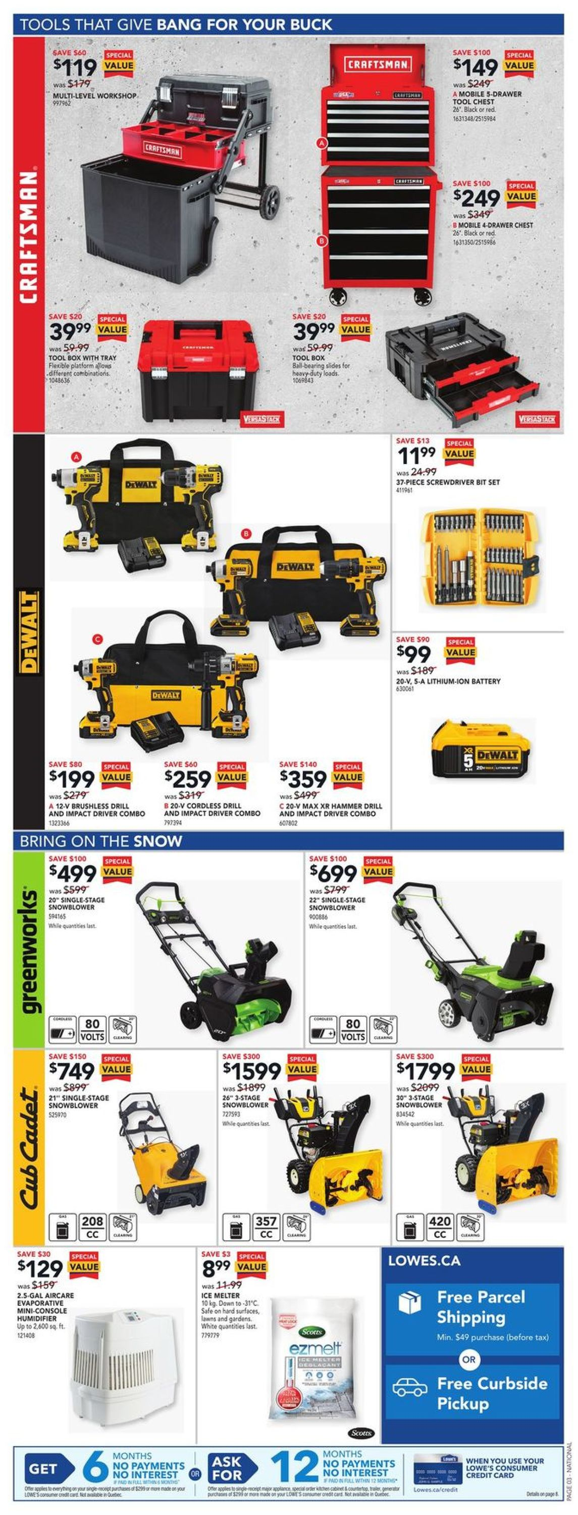 Lowes Flyer - 01/28-02/03/2021 (Page 3)