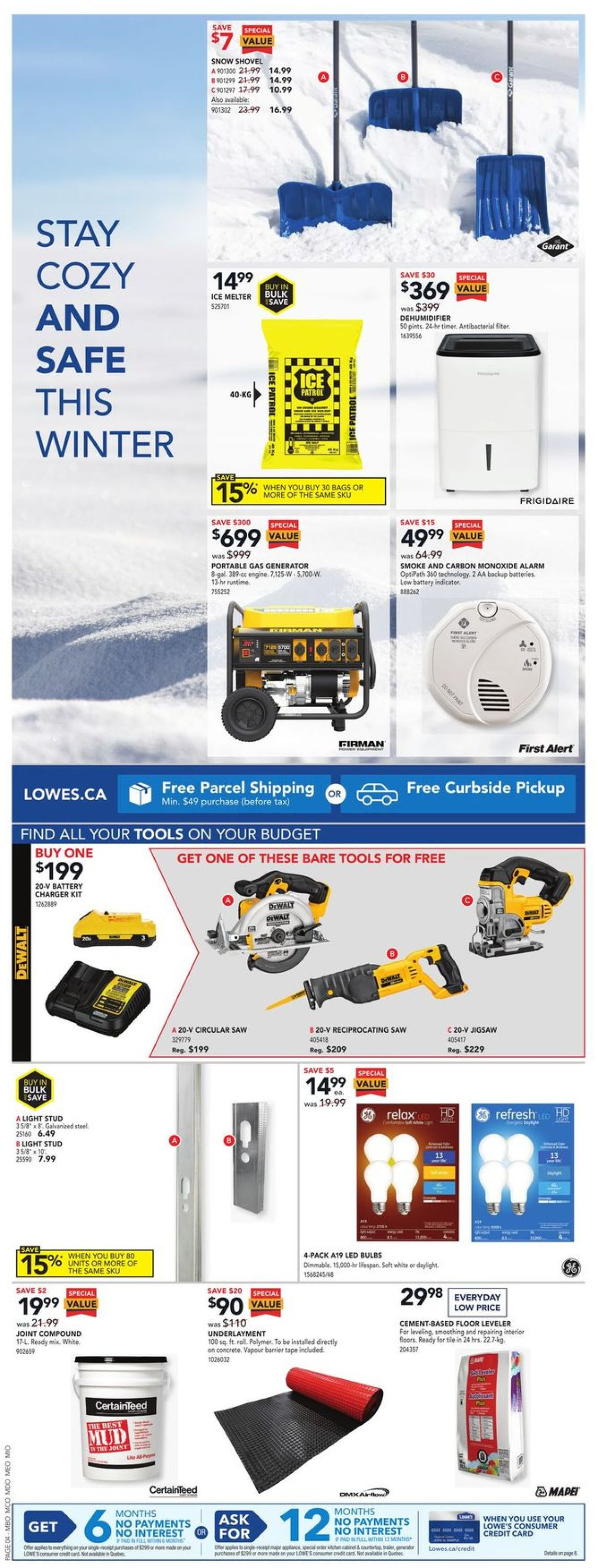 Lowes Flyer - 01/28-02/03/2021 (Page 4)