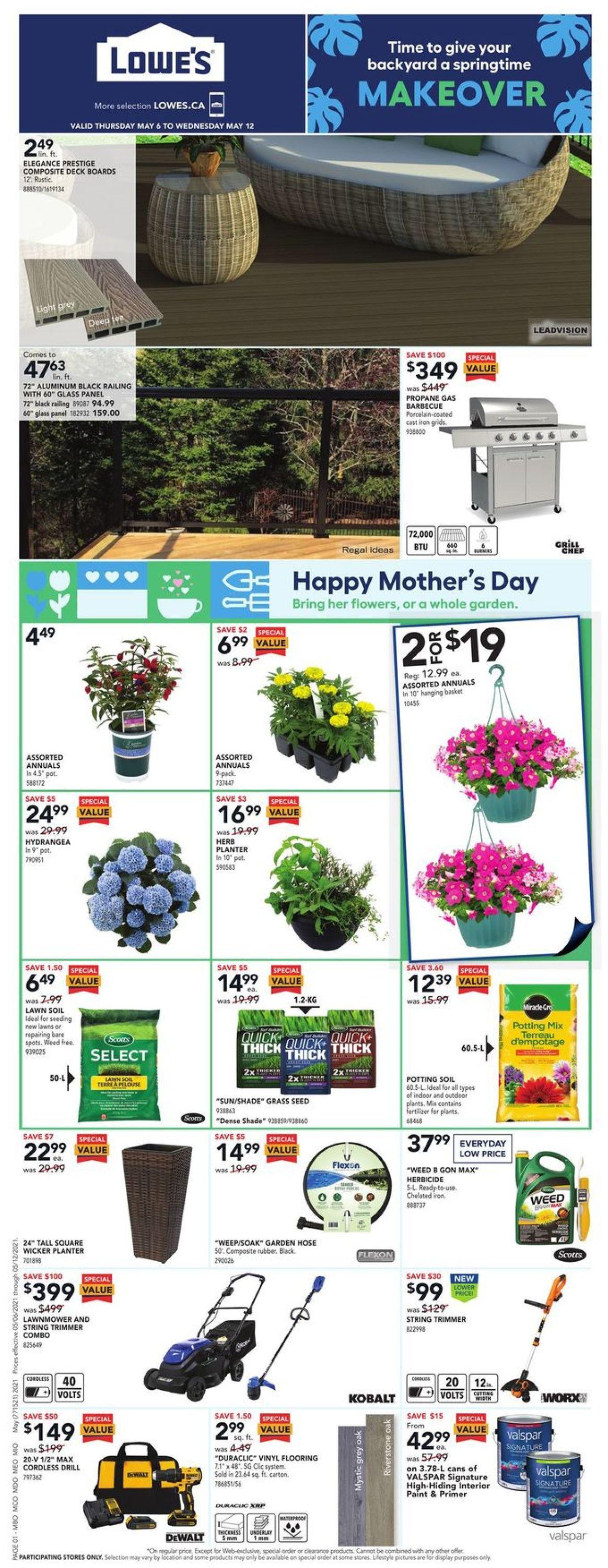 Lowes Flyer - 05/06-05/12/2021