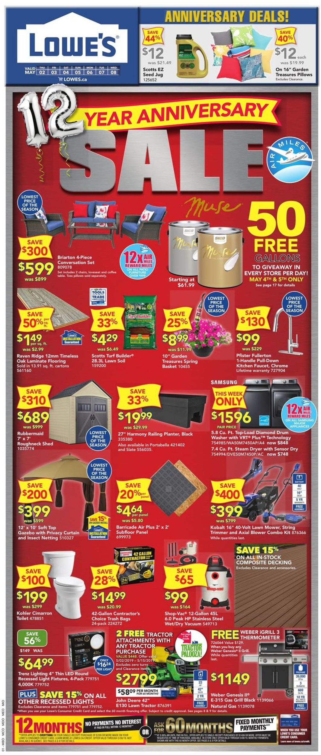 Lowes Flyer - 05/02-05/08/2019