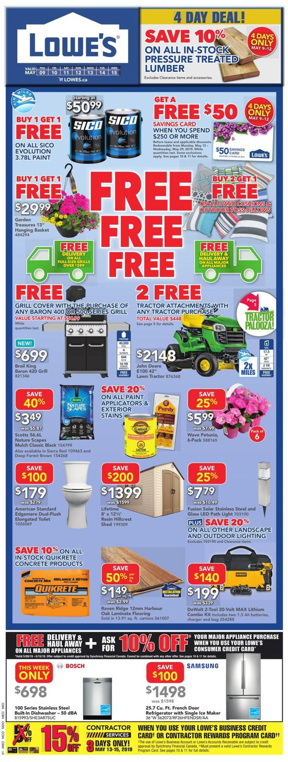 Lowes Flyer - 05/09-05/15/2019