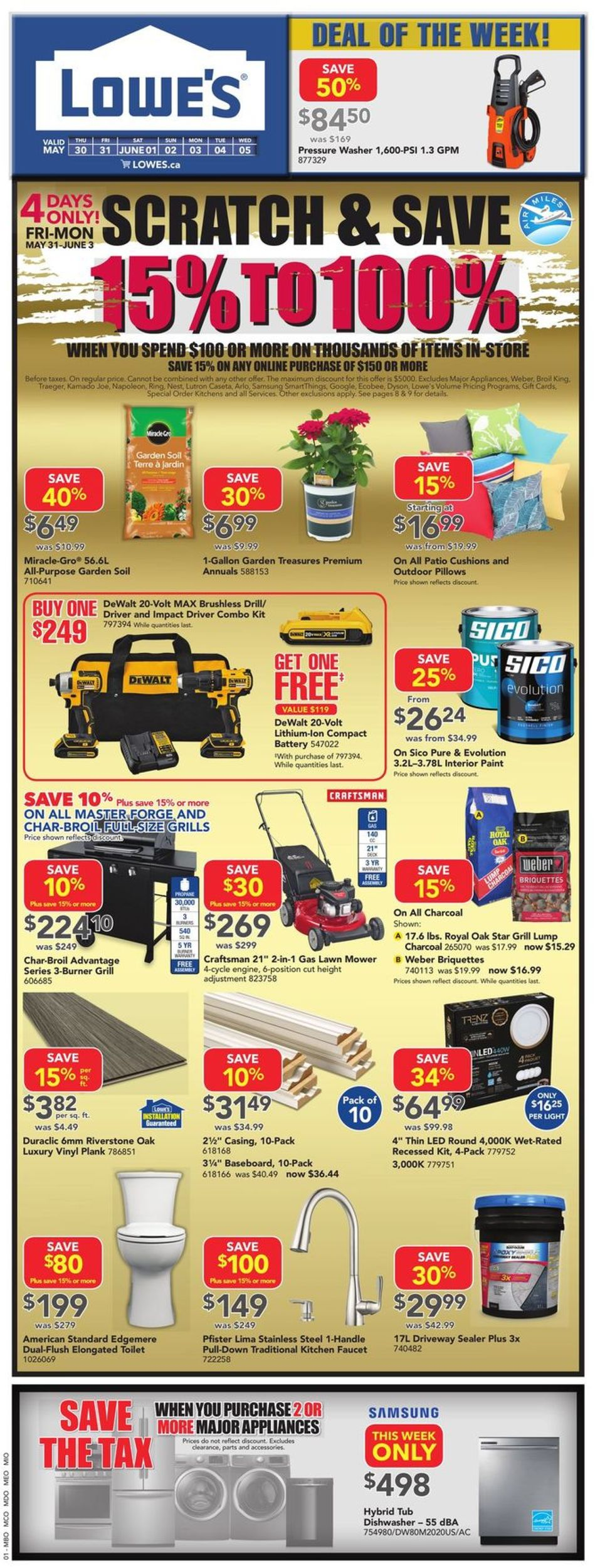Lowes Flyer - 05/30-06/05/2019