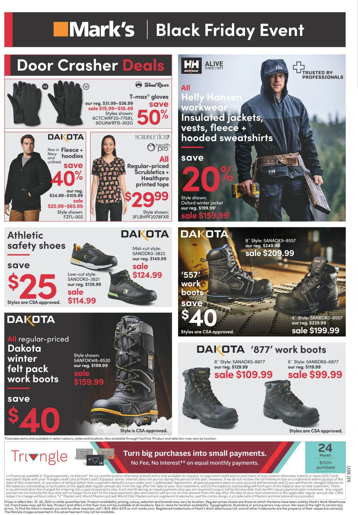Mark's - Black Friday Flyer 2020 Flyer - 11/19-11/25/2020 (Page 4)