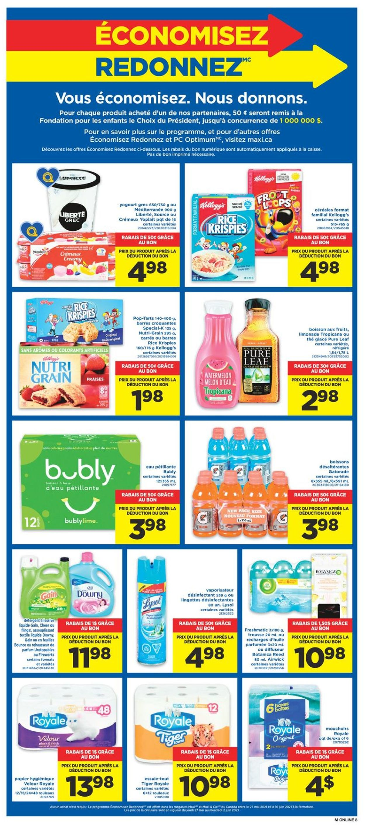 Maxi Flyer - 05/27-06/02/2021 (Page 13)