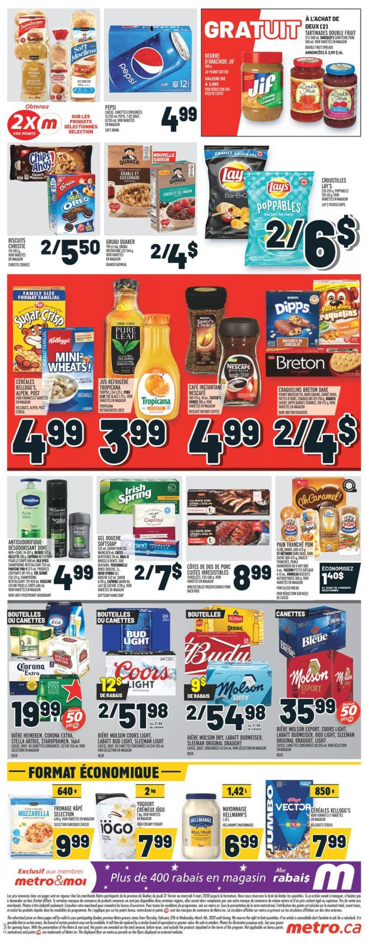 Metro Flyer - 02/27-03/04/2020 (Page 3)
