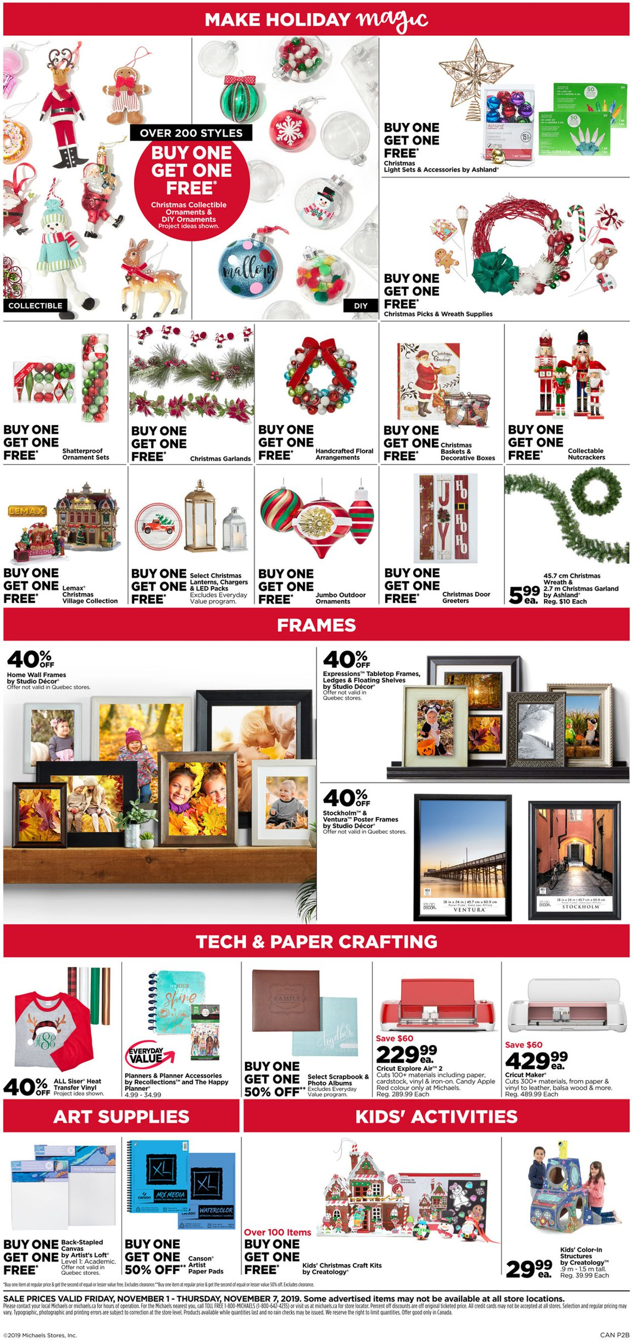 Michaels Flyer - 11/01-11/07/2019 (Page 4)