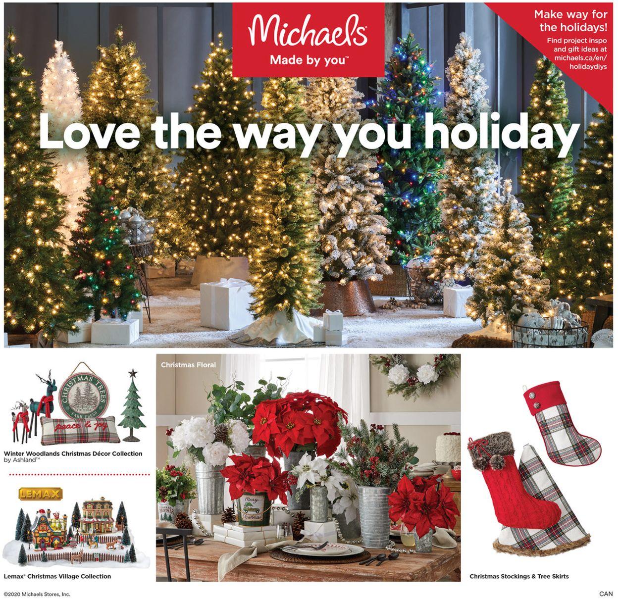 Michaels Flyer - 10/16-10/22/2020
