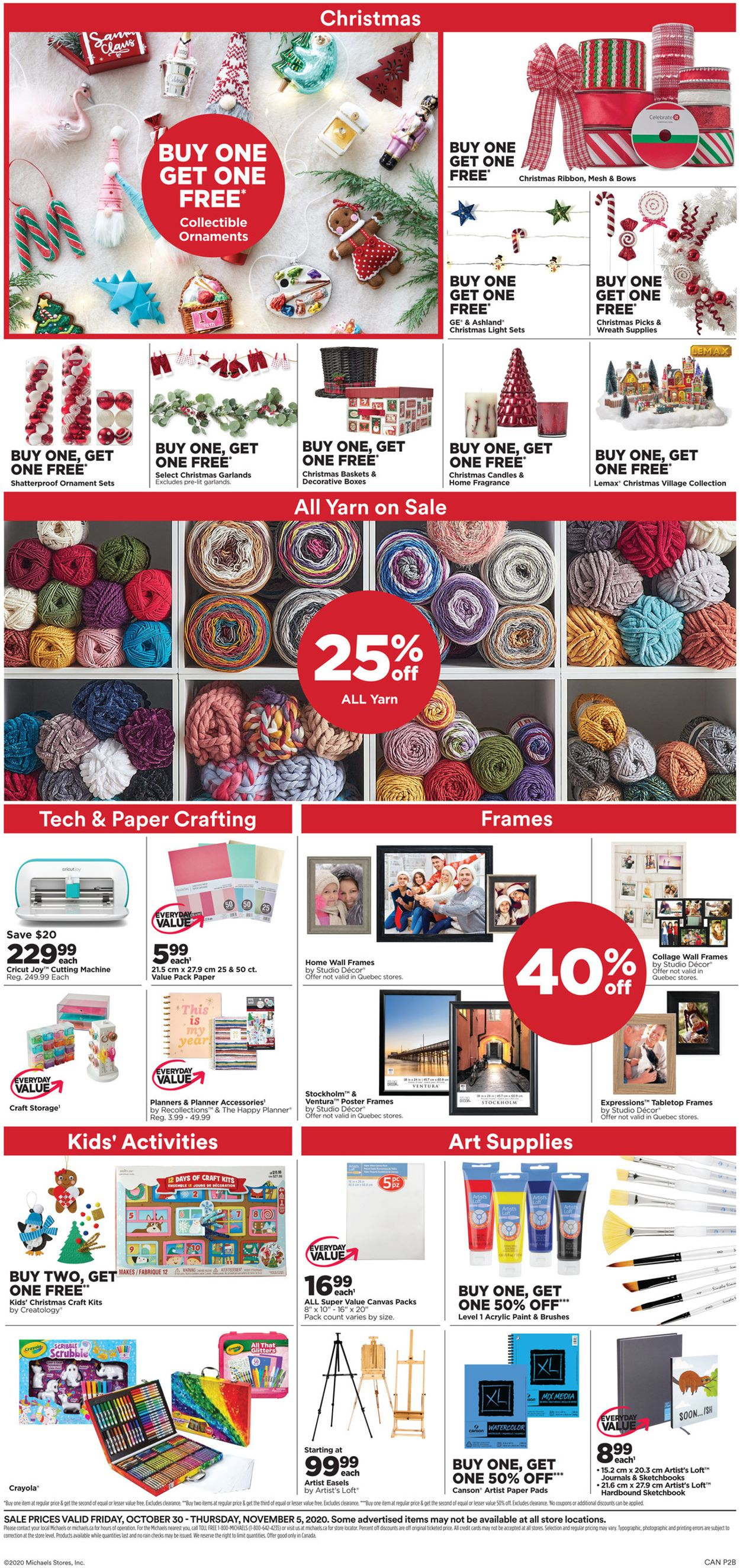 Michaels Flyer - 10/30-11/05/2020 (Page 2)