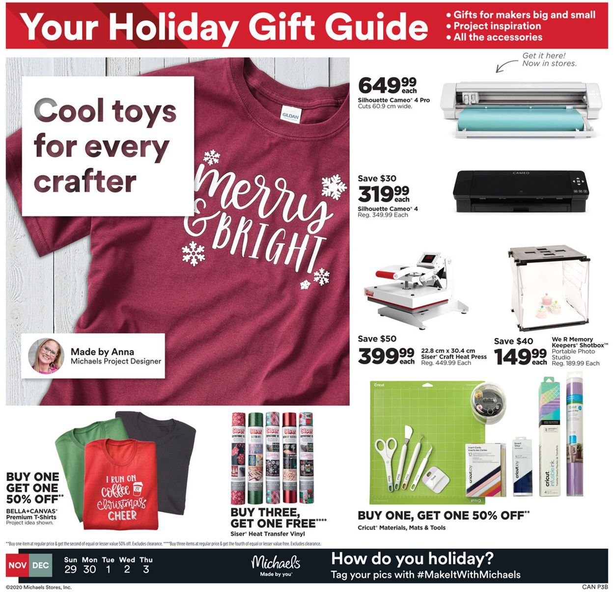 Michaels - Holiday 2020 Flyer - 11/29-12/03/2020 (Page 3)