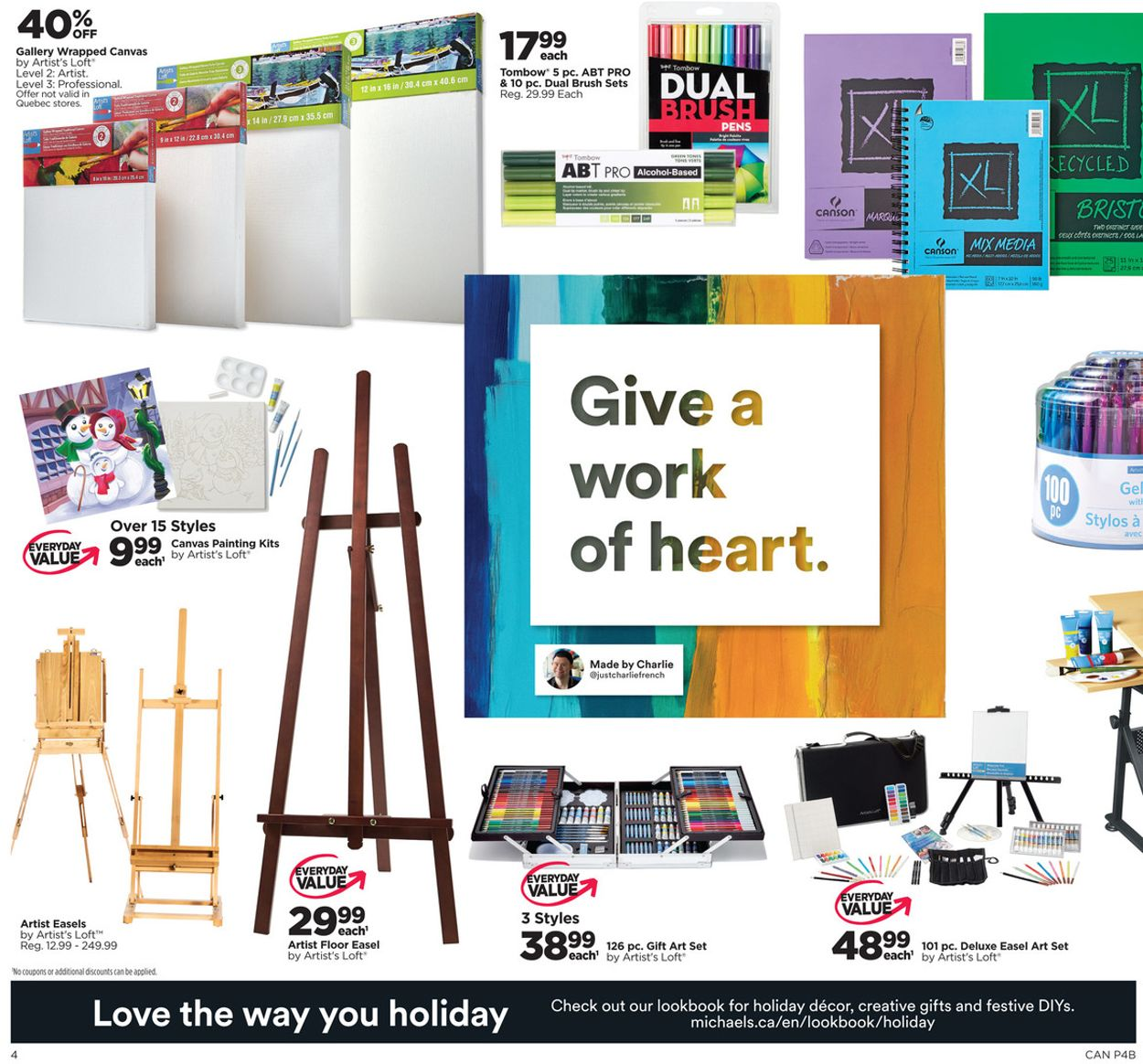 Michaels - Holiday 2020 Flyer - 11/29-12/03/2020 (Page 4)