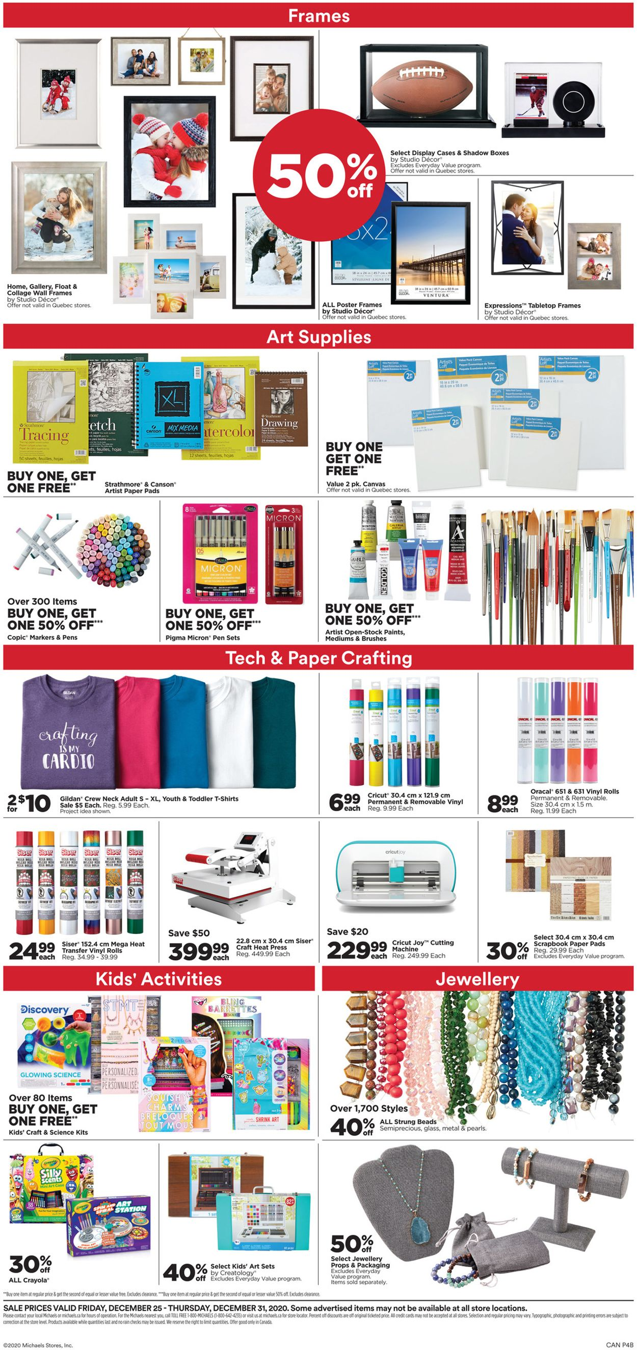 Michaels Flyer - 12/26-12/31/2020 (Page 4)