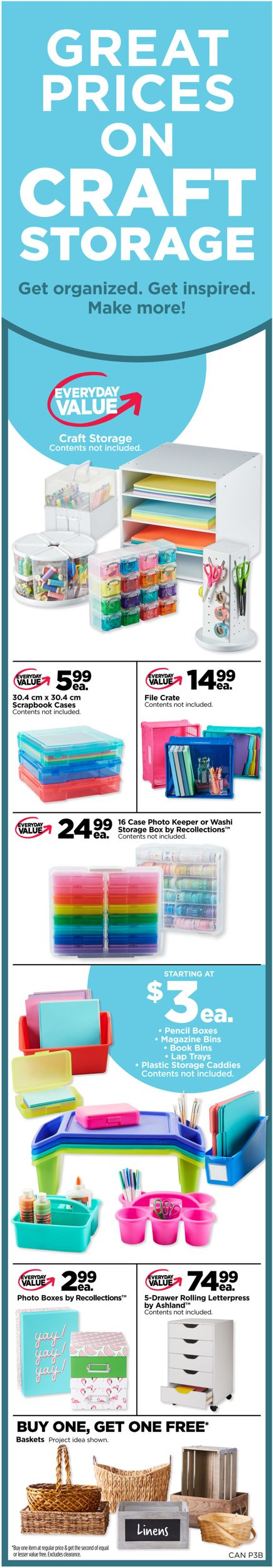 Michaels Flyer - 07/19-07/25/2019 (Page 3)