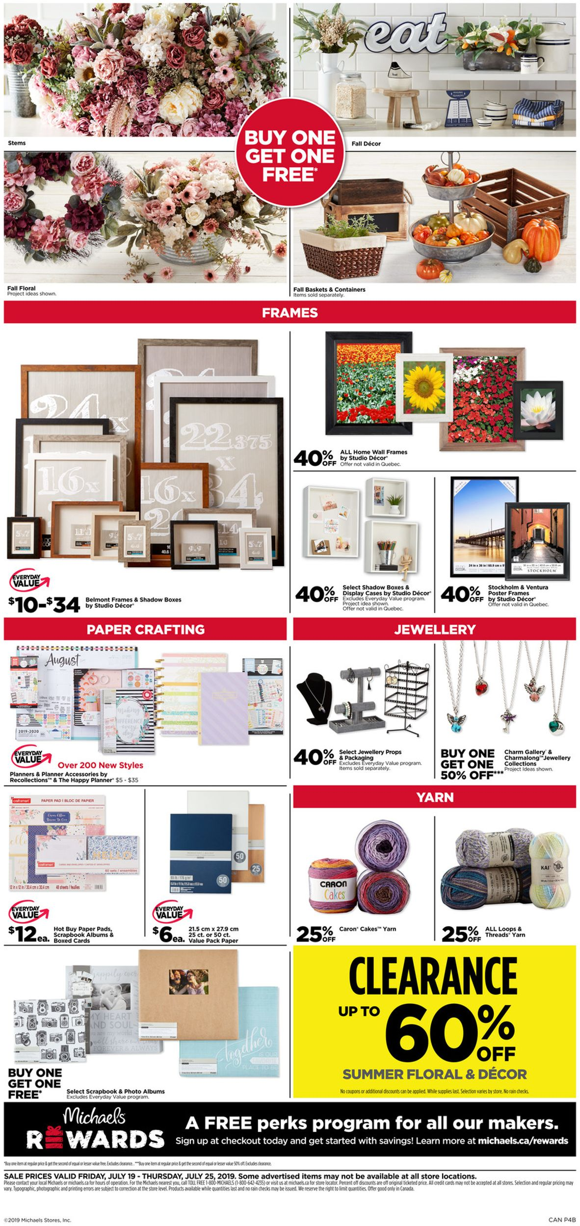 Michaels Flyer - 07/19-07/25/2019 (Page 4)