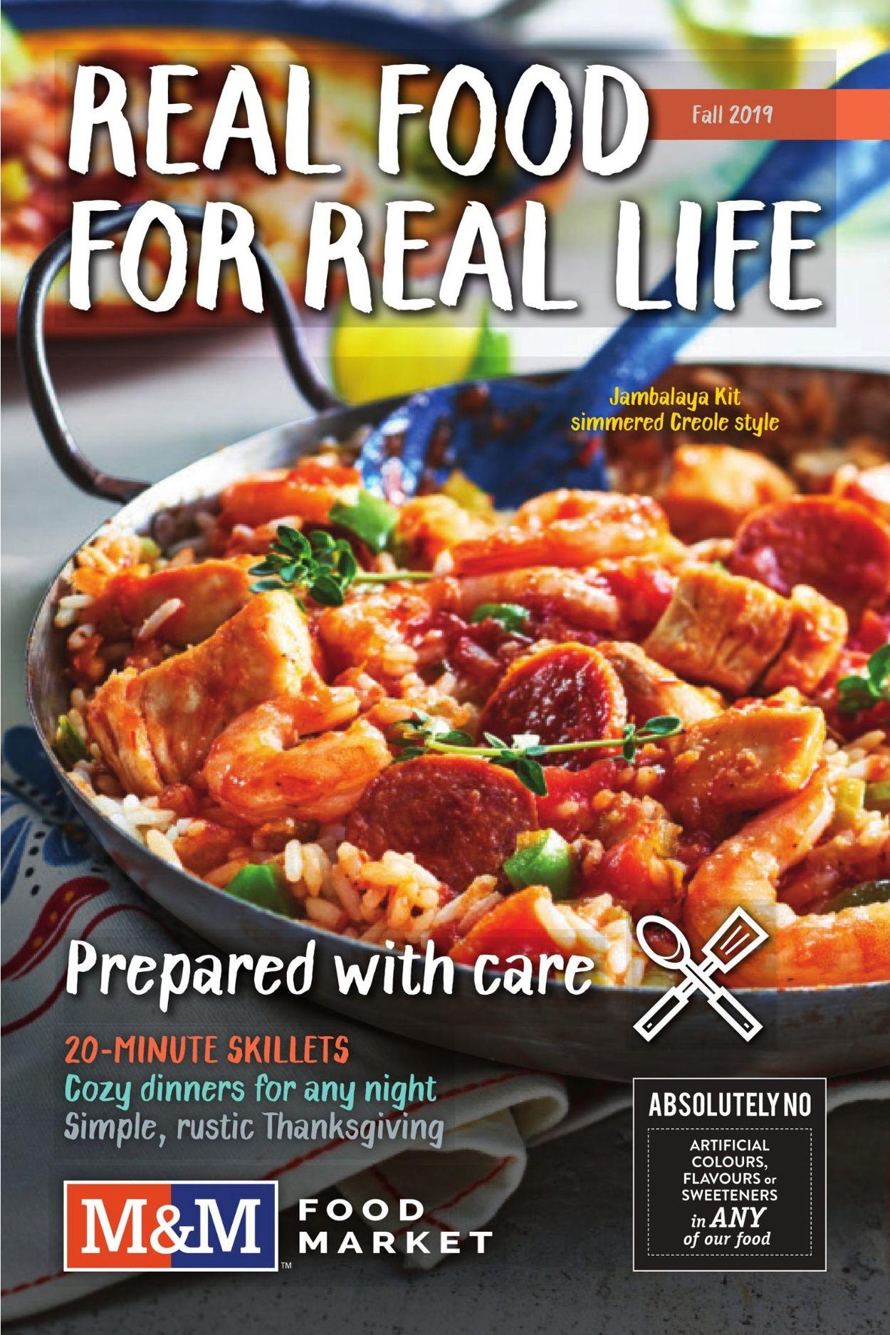 M&M Food Market Flyer - 09/09-11/13/2019