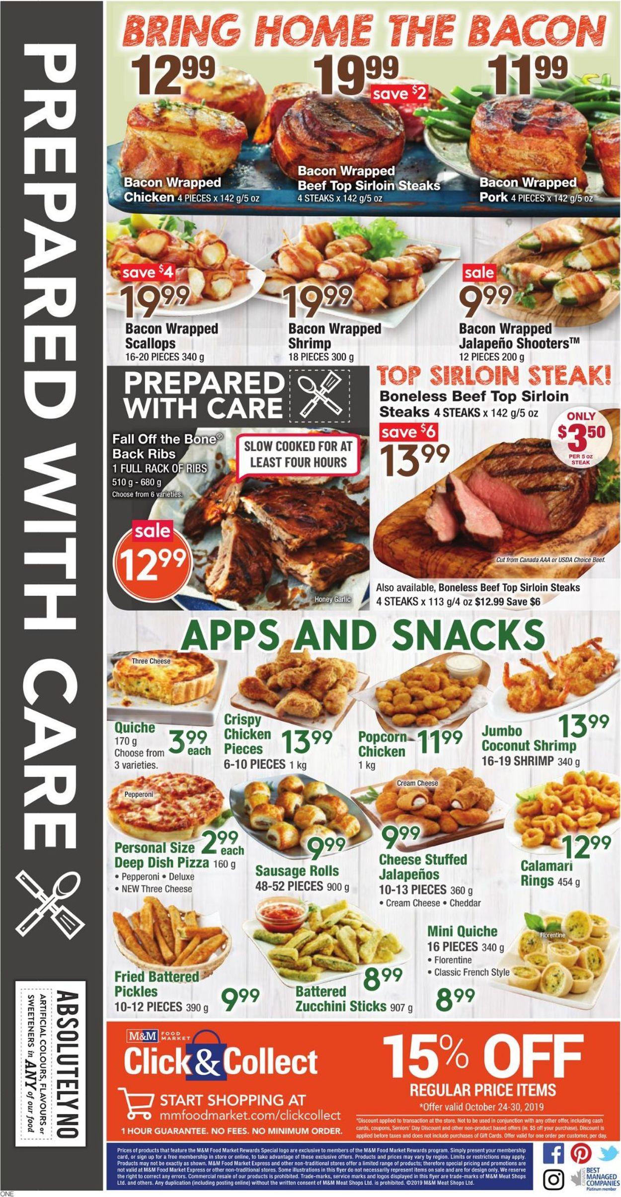 M&M Food Market Flyer - 10/24-10/30/2019 (Page 6)