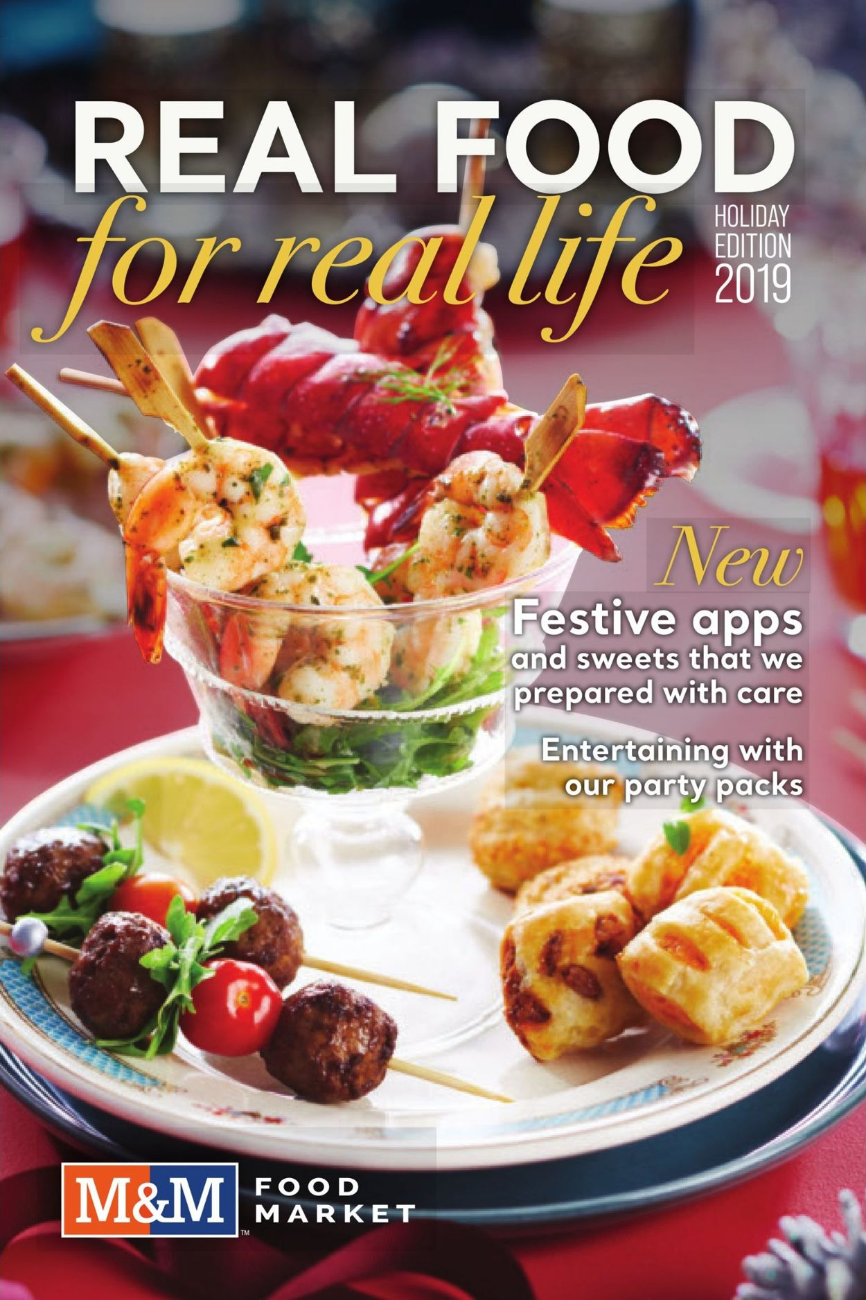 M&M Food Market HOLIDAY Food Inspirations 2019 Flyer - 11/14-02/09/2020