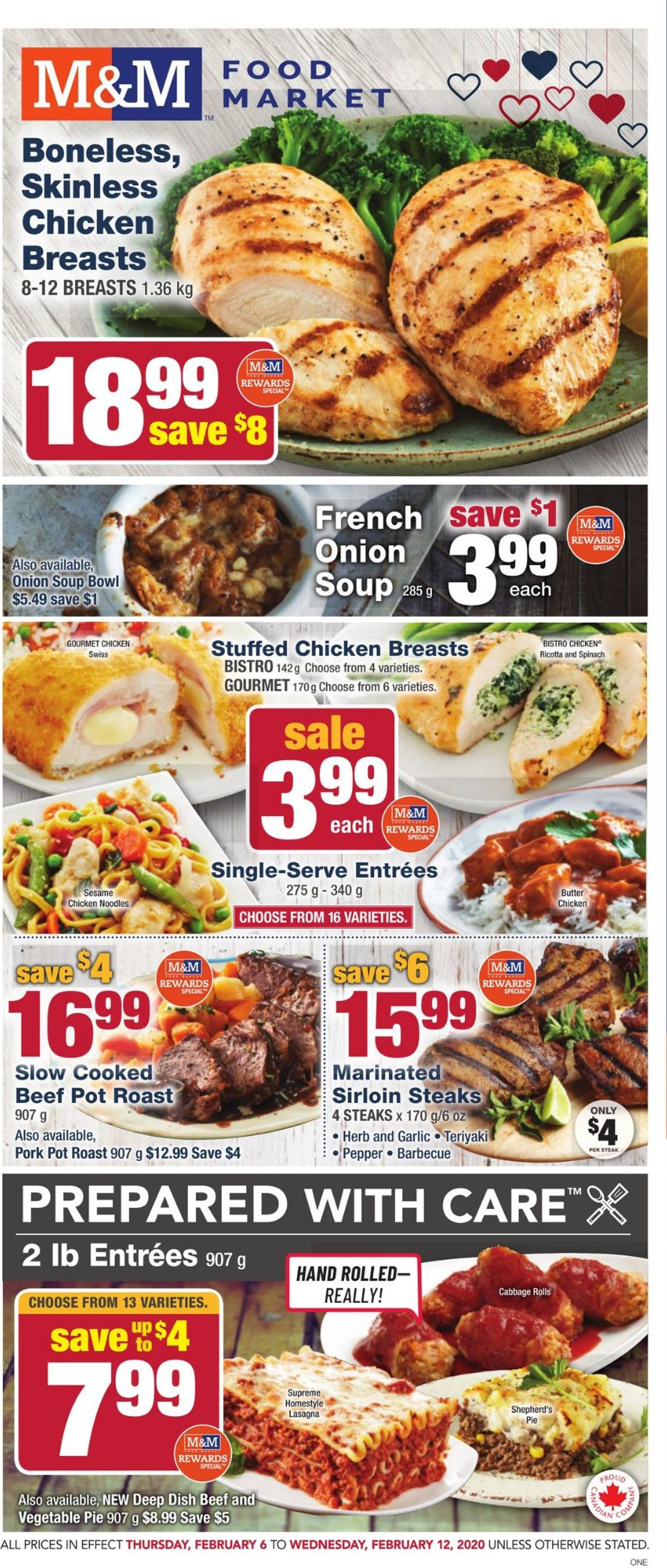 M&M Food Market Flyer - 02/06-02/12/2020