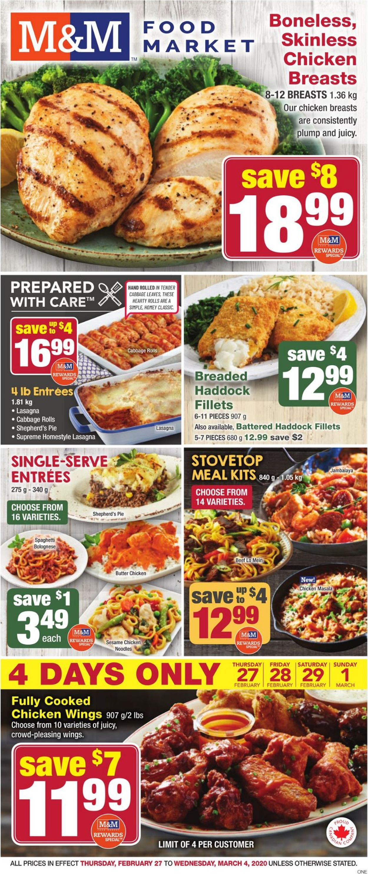 M&M Food Market Flyer - 02/27-03/04/2020
