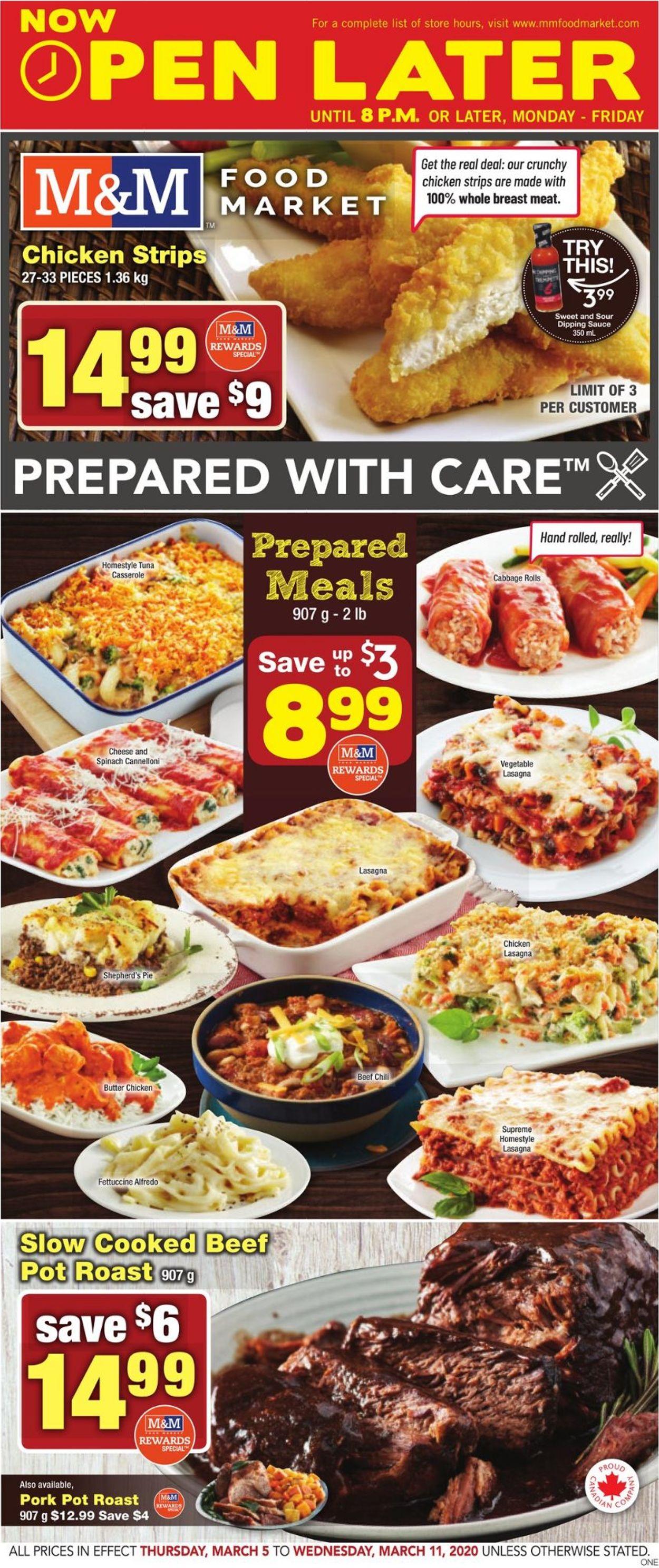 M&M Food Market Flyer - 03/05-03/11/2020