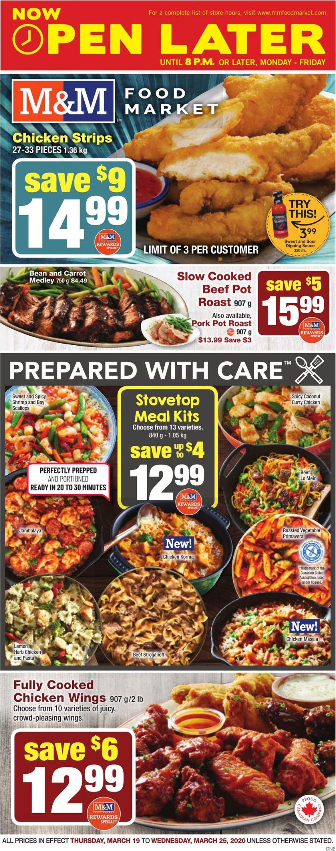 M&M Food Market Flyer - 03/19-03/25/2020