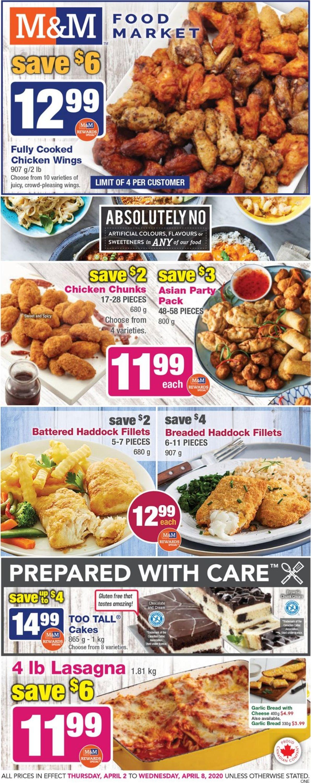 M&M Food Market Flyer - 04/02-04/08/2020
