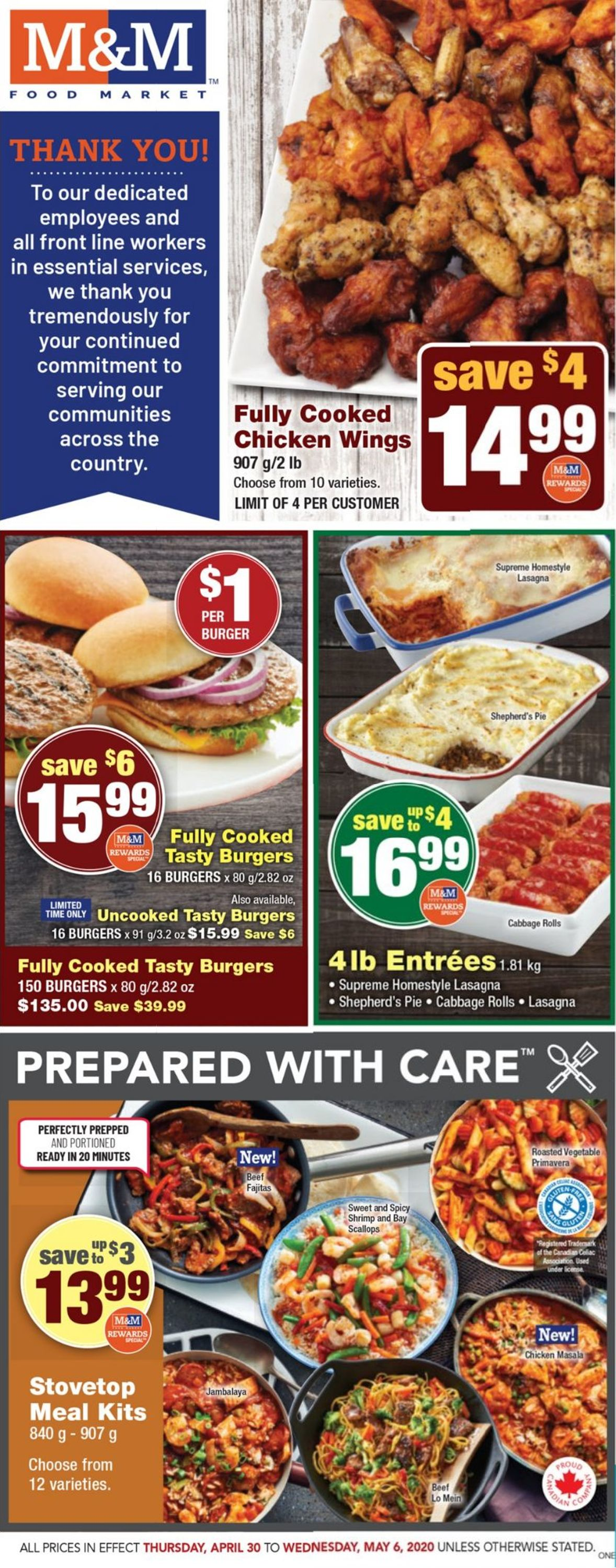 M&M Food Market Flyer - 04/30-05/06/2020