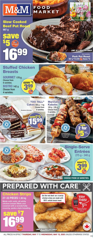 M&M Food Market Flyer - 05/07-05/13/2020
