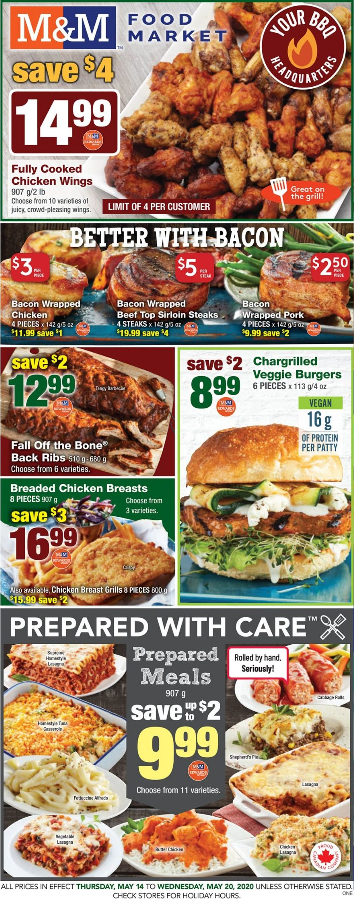 M&M Food Market Flyer - 05/14-05/20/2020