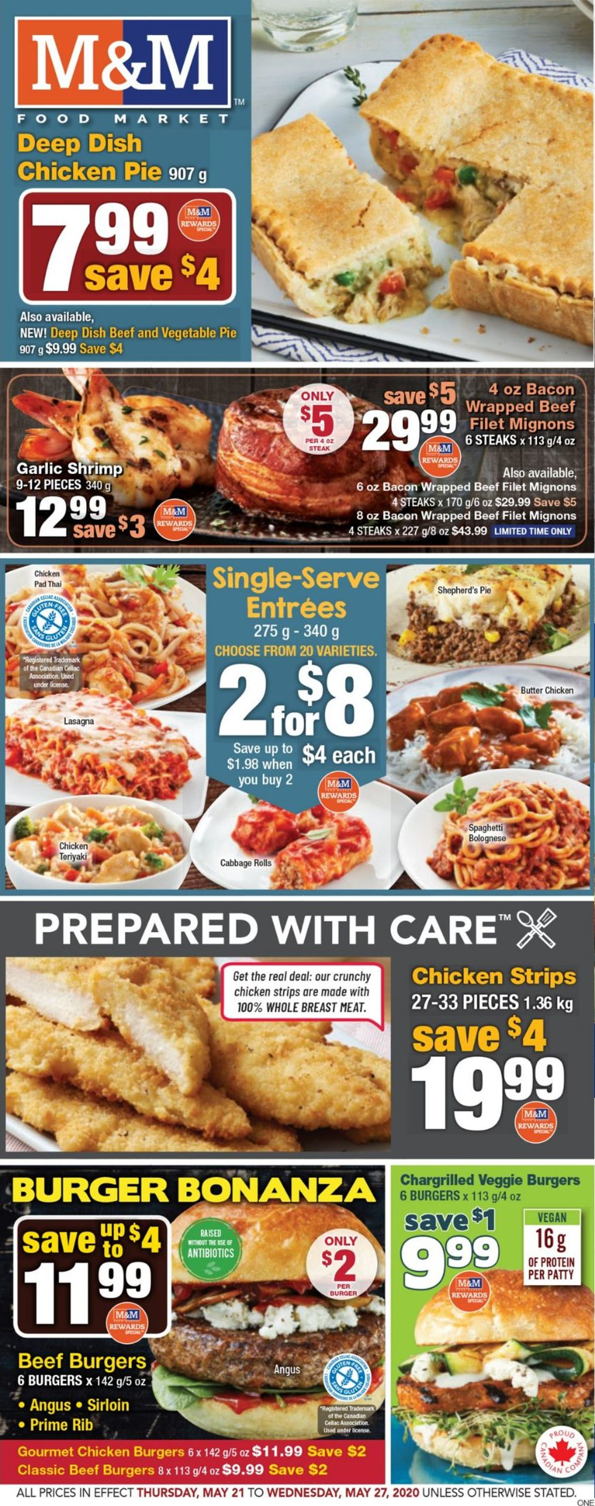 M&M Food Market Flyer - 05/21-05/27/2020