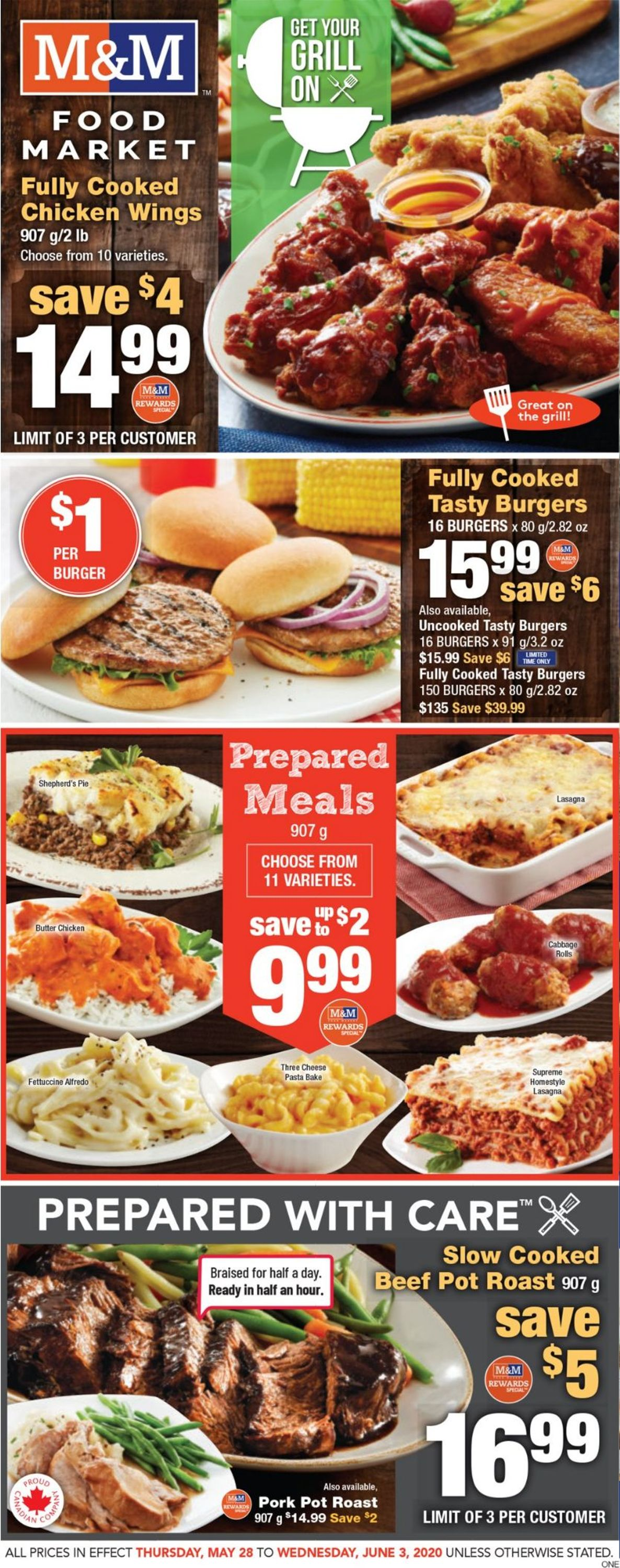 M&M Food Market Flyer - 05/28-06/03/2020