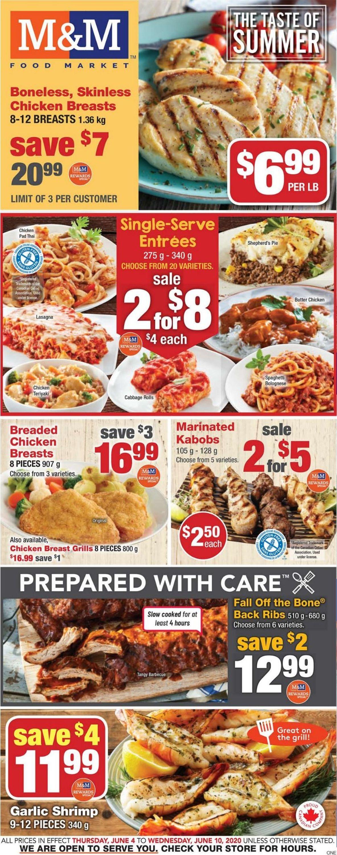 M&M Food Market Flyer - 06/04-06/10/2020