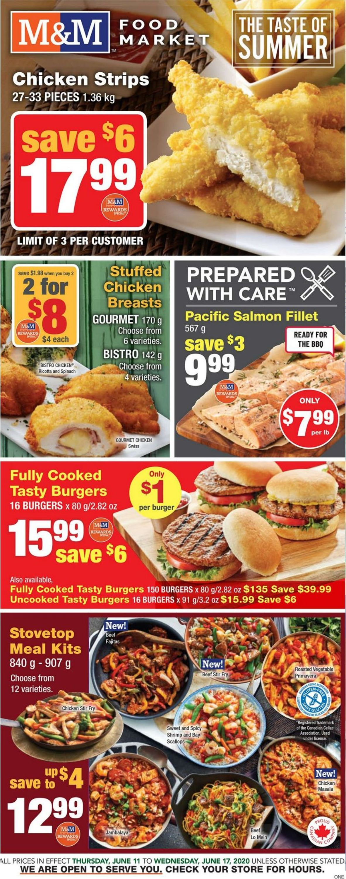 M&M Food Market Flyer - 06/11-06/17/2020
