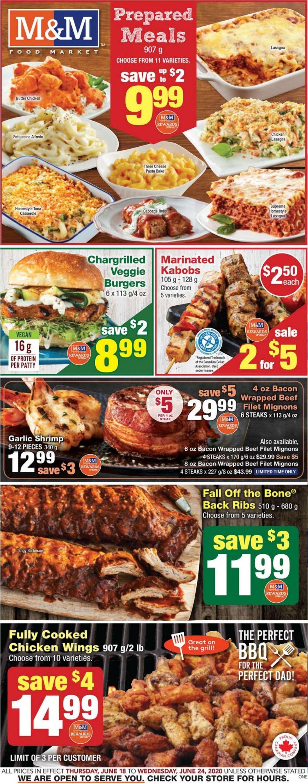 M&M Food Market Flyer - 06/18-06/24/2020
