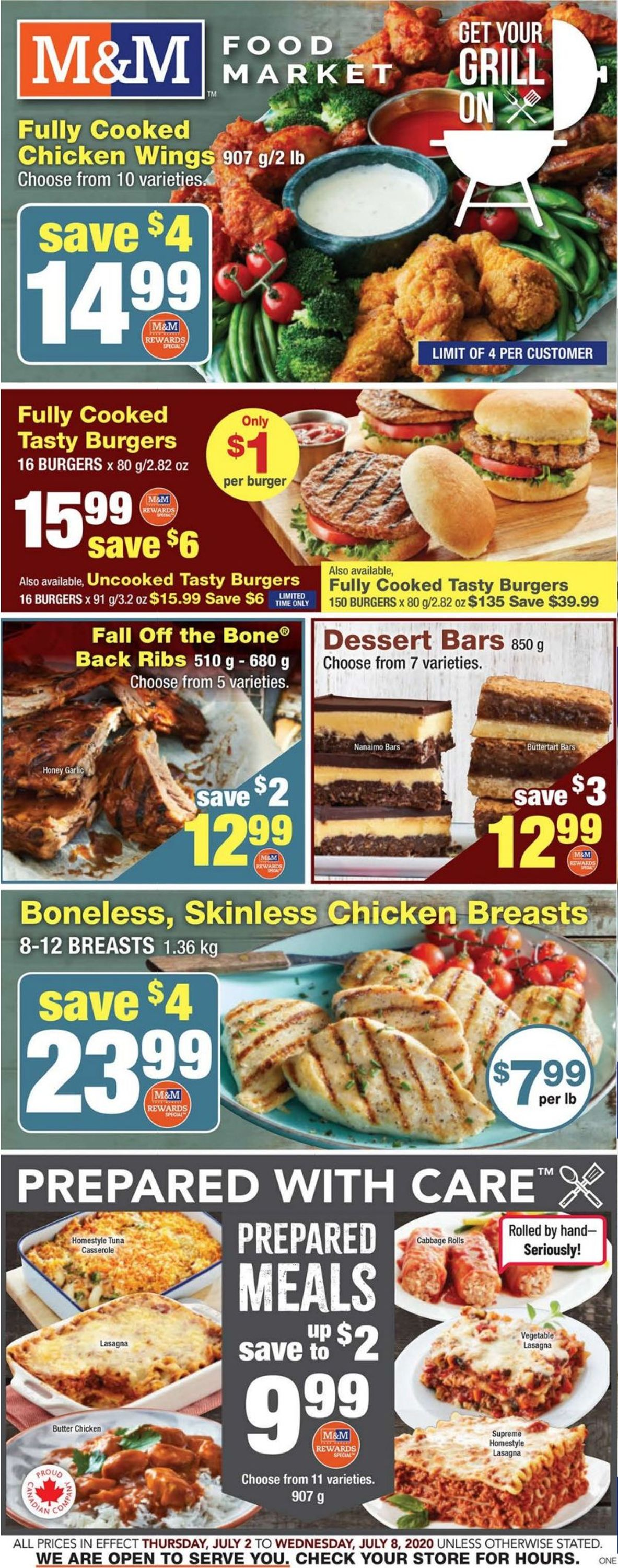 M&M Food Market Flyer - 07/02-07/08/2020