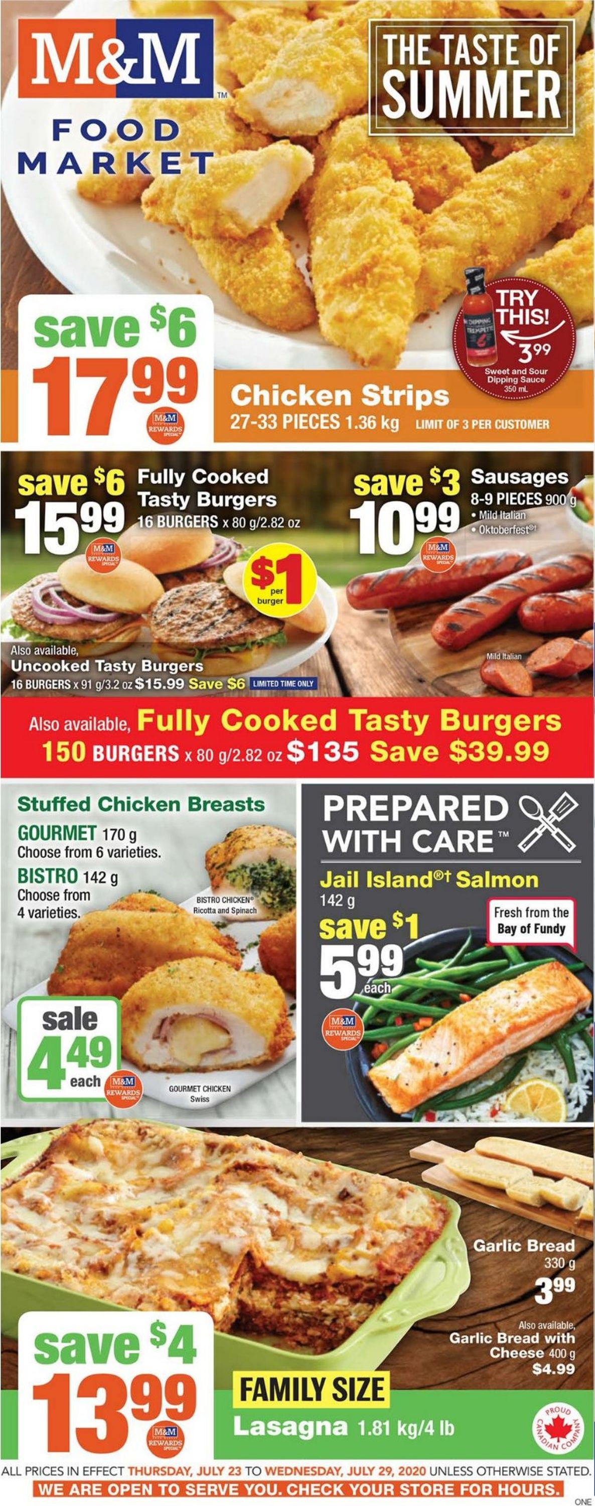 M&M Food Market Flyer - 07/23-07/29/2020
