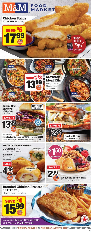 M&M Food Market Flyer - 08/13-08/19/2020