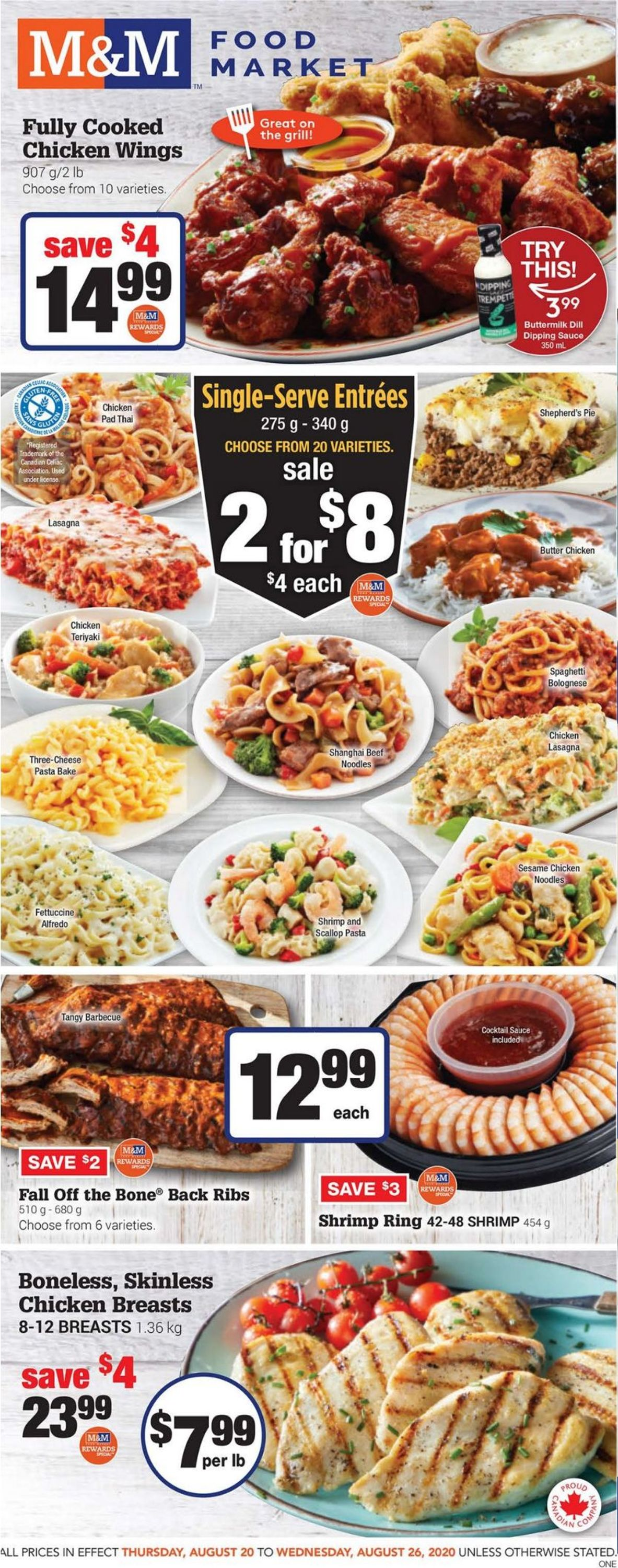 M&M Food Market Flyer - 08/20-08/26/2020