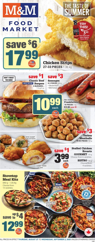 M&M Food Market Flyer - 08/27-09/02/2020