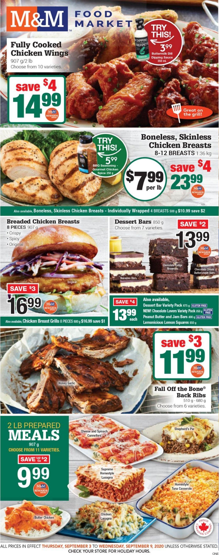 M&M Food Market Flyer - 09/03-09/09/2020