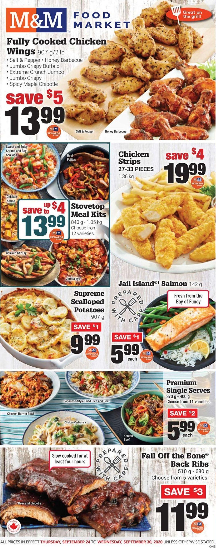 M&M Food Market Flyer - 09/24-09/30/2020