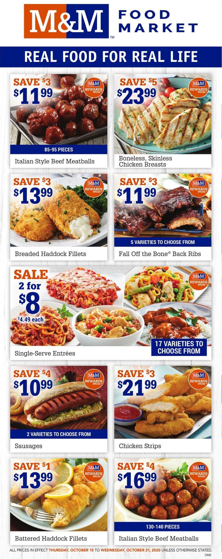 M&M Food Market Flyer - 10/15-10/21/2020