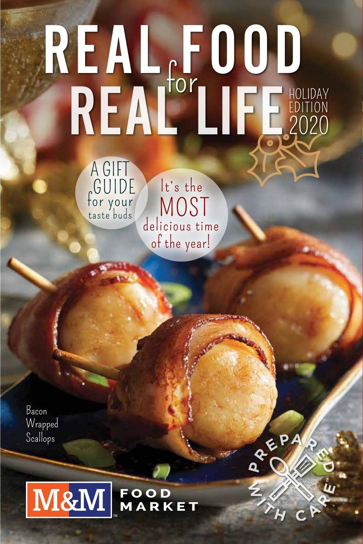 M&M Food Market - Holiday 2020 Flyer - 11/12-01/07/2021